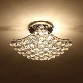Chromed Metal Classic Ceiling Lamp For Ceiling Room
