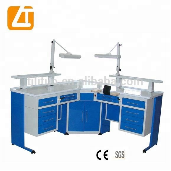Promotion! CE approval dental laboratory work bench dental technician table