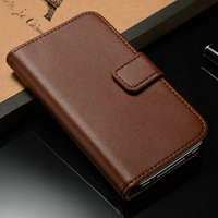 Cheap price quality leather cell phone case for lovers couple designed for Iphone 4 4S housing bag