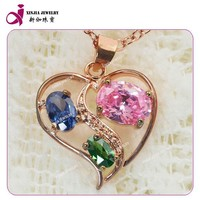 2015 Fashion letter p pendant gold plated copper jewelry wholesale