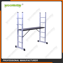 EN131 Approved ladder scaffolding system with plywood for AM0406A