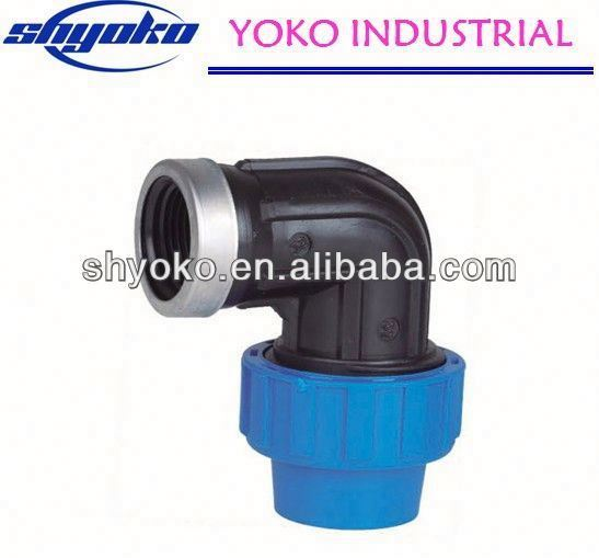 2014 Cheapest high quality PP coupling fittings Pipe Fittings rptfe/pvdf/pp lined pipe fitting