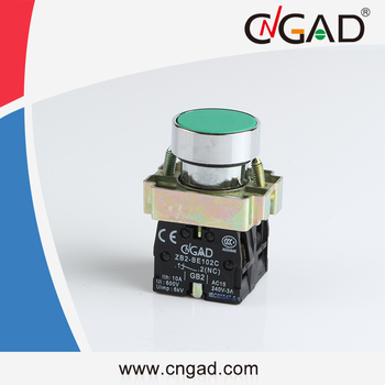 XB2-BA35 CNGAD green momentary flush push button switch