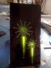 2015 new design fireworks light, many effects like comet/ thunder lightning/ planet/moon/shooting star fiber optic light