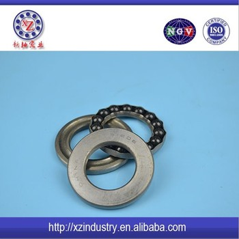 High load axial load thrust ball bearing 51118 in China market