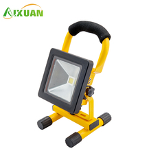 Free Sample Waterproof Portable SMD Emergency Work LED Rechargeable Flood Light Floodlight 5W 10W 20W 30W 50W