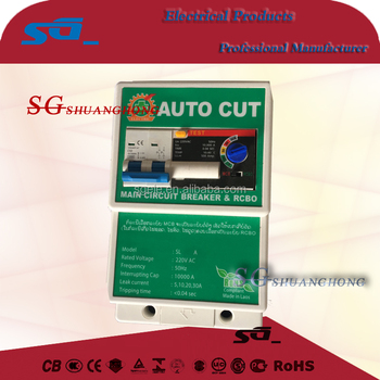 SAFE-T-CUT NT50L Popular In Thailand Residual Current Circuit Breaker RCBO
