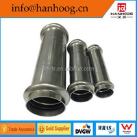 Professional customized hydraulic stainless steel pipe quick coupling