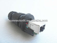 8pins female pa66 rj45 connector