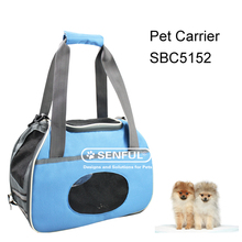 Collapsable hard cover pet carrier expandable pet carrier