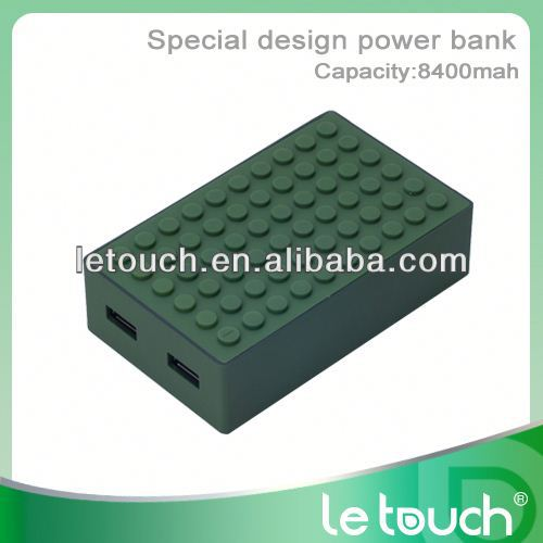 HIGH CAPACITY Mobile Power supply 8400mah for iphone/ipad/ipod/samsung