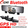 Factory Offer Dual Cam HD 1080p Bluetooth GPS bluetooth Drive Recorder Dvr