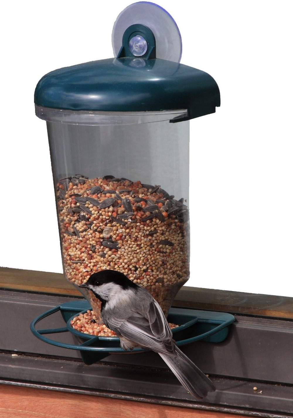 Garden Plastic Window Bird Feeder/ Window Bird Feeder