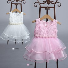China Infant Clothes Flower Girl Wedding Princess Dress Party Frock 1925