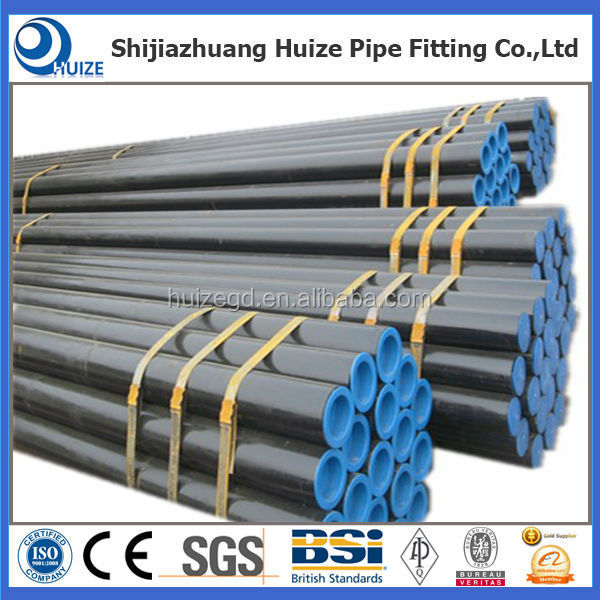 shijiazhuang huize pipe/tube fitting co.,ltd supply A333 Gr6 carbon steel pip