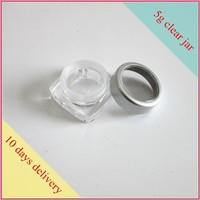 5g cost effective trial samples size acrylic cosmetic jar 5ml