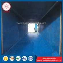 UHMWPE and HDPE chute liner / coal bunker / truck bed liner