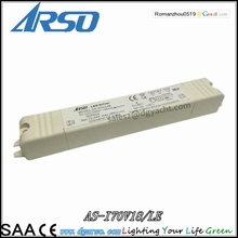 Australian standard Meanwell Traic Non Dimmable Constant current 13W 700mA LED driver