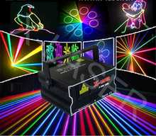 2 w rgb full color laser 2d animación haz light 3d efectos etapa disco club bar dj party laser