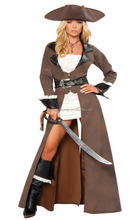 Factory Price Pirate Costumes Women Pictures for Cosplay Party