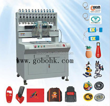 best- sale and high efficienct pvc patch making machine 23 years Manufacturing specialist lixin SGS/CE