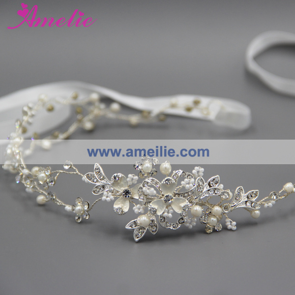 Floral Bridal Wedding Hair Accessries Crown Hair Vine