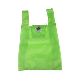 standard size foldable polyester shopping bag