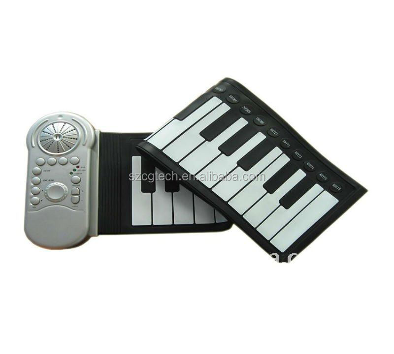 promotional 37 keys silicone electronic piano.