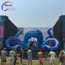 stage event party night club decoration inflatable octopus