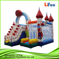 Factory price inflatable combo castle/inflatable jumping house/inflatable bouncy castle with slide for sale