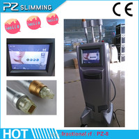 thermal rf and fractional rf laser / vertical thermagr fractional rf face lift machine / fractional rf PZ-8 with 2 heads