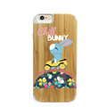 new product 2016 bamboo wooden personalized cartoon mobile phone cover for iphone6 case