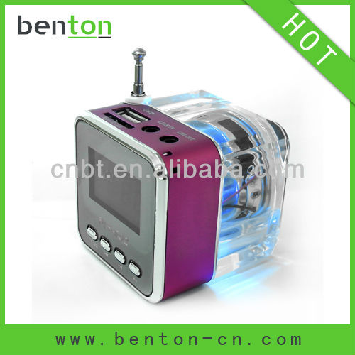 2012 hotest sell mp3 pillow speaker of high quality