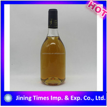 new products custom-made color spraying 187ml empty mini glass wine liquor bottle