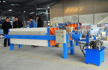 Hydraulic Plate and Frame Filter Press