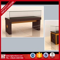 high quality MDF wholesale glass display cases for JEWELRY decoration