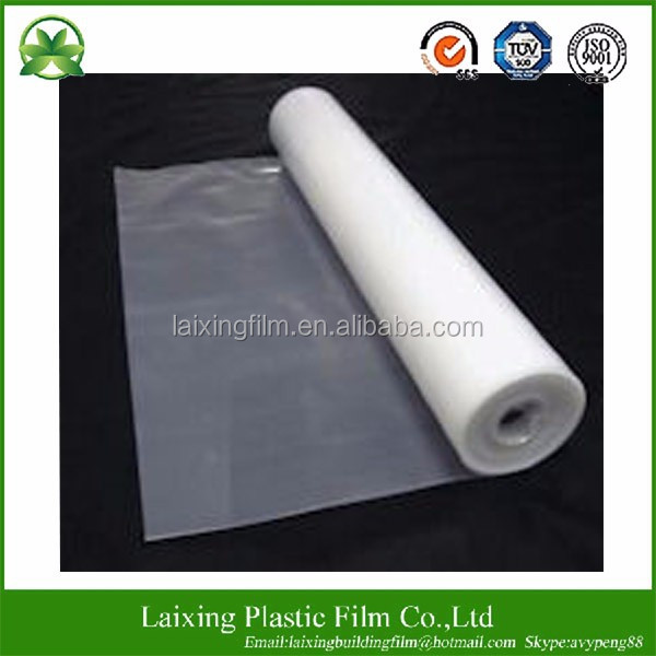 Clear LDPE 100%Virgin Film Poly Sheeting 6mil*20'*100'