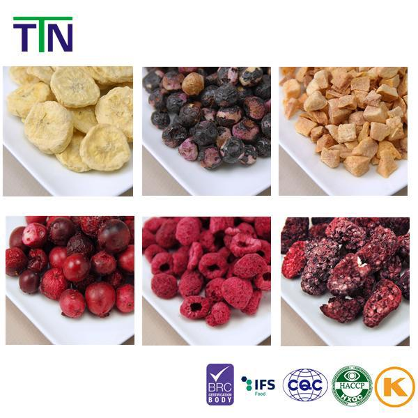 TTN 2017 Bulk Wholesale Chinese Healthy Snack FD Fruit Freeze Dried Fruit