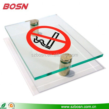 Clear Acrylic logo display Acrylic Logo Block Acrylic Sign