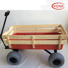 GARDEN CART TROLLEY 4 balloon WHEEL WAGON cart