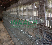 Factory Direct Sale on Alibaba Galvanized Metal Rabbit Cage