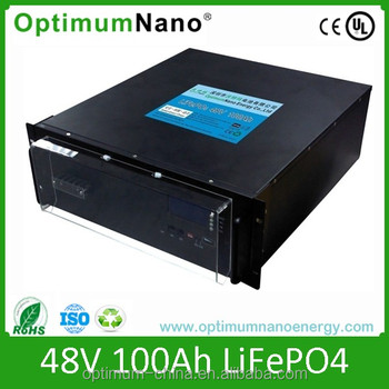 Gorgeous 48v 100ah lifepo4 solar system battery with smart BMS