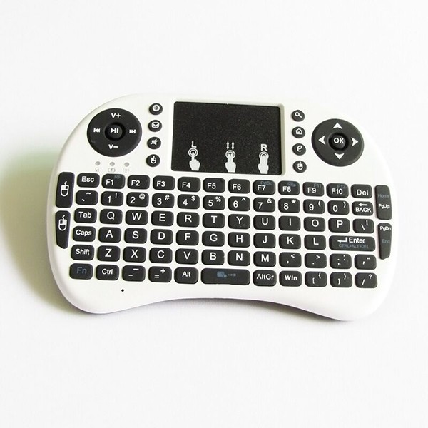Wholesale I8 wireless remote and keyboard 2.4g with Touch Pad