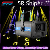 NEW ARRIVAL 3 in 1 5R Sniper 200W Projector With Scanner Laser Beam Effect Led Stage Light For Night Clubs DMX 512