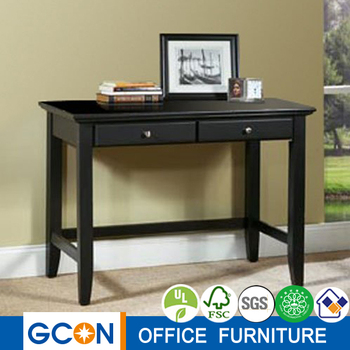 home style black office slim computer working desk buy