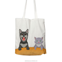 Factory Cheap High Quality Gift Cotton Bag Unique Dogs Shopping Bags With Your Own Logo