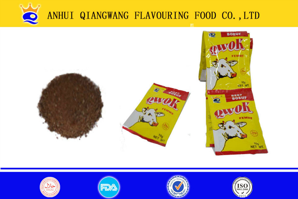 Beef flavor seasoning and spice powder