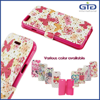 [GGIT] Wholesale Glittering Custom Flip Leather Phone Case for iPhone 6