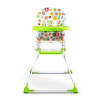 Folding Easy High Chair for baby with CE approval
