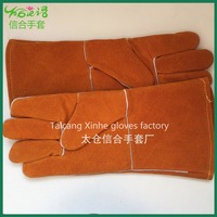 PPE Welder Gloves Yellow Leather Gloves